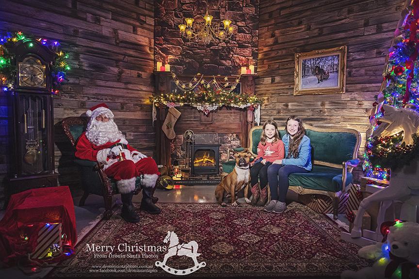 Drouin Santa Photos 2020 Theme - Welcome to Santas House
